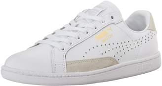 Puma Men's Match 74 Upc Running Shoe, White/White / Gold Foil