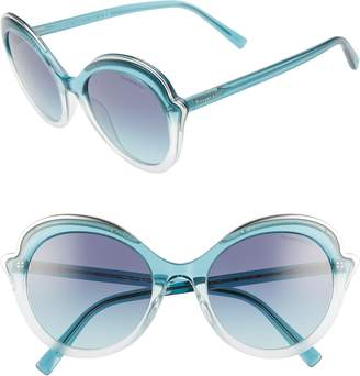 Tiffany & Co. Paper Flowers 54mm Round Sunglasses