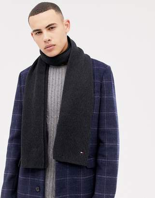at ASOS · Tommy Hilfiger Pima Cotton Cashmere Scarf in Black d3e5a8159b87