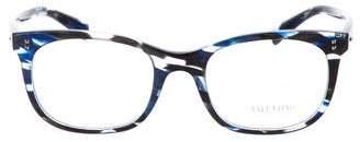 Valentino Rockstud Square Eyeglasses