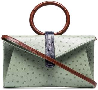 Valery Complét ostrich-effect crossbody bag