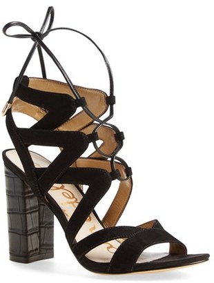 Women's Sam Edelman 'Yardley' Lace-Up Sandal $129.95 thestylecure.com