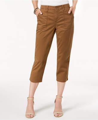 Style&Co. Style & Co Curved-Pocket Capri Pants