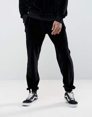 Antioch Tapered Velour Joggers