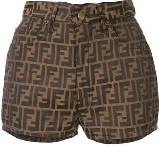 Fendi Pre-Owned Zucca pattern shorts