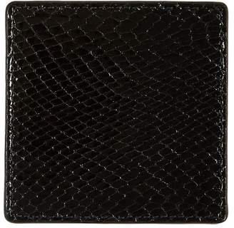 Barneys New York Python-Embossed Square Coaster