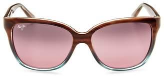 Maui Jim Women's Starfish Rectangle Sunglasses, 56mm