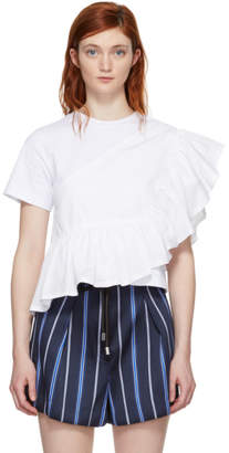 3.1 Phillip Lim White Flamenco T-Shirt