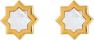 Asha Kismet Mother-of-Pearl Stud Earrings