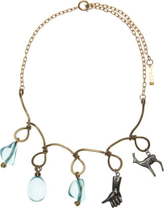 Marni Looped Charm Necklace