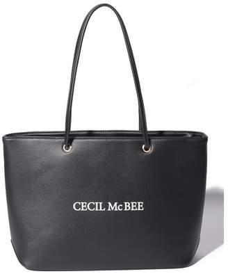 CECIL McBEE (セシル マクビー) - CECIL McBEE 合皮ハンドルショッパーBAG