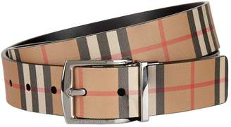 Burberry Check Belt