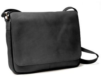 Royce Leather Vaquetta Flap Front Shoulder Bag e4a3f7a76f27a