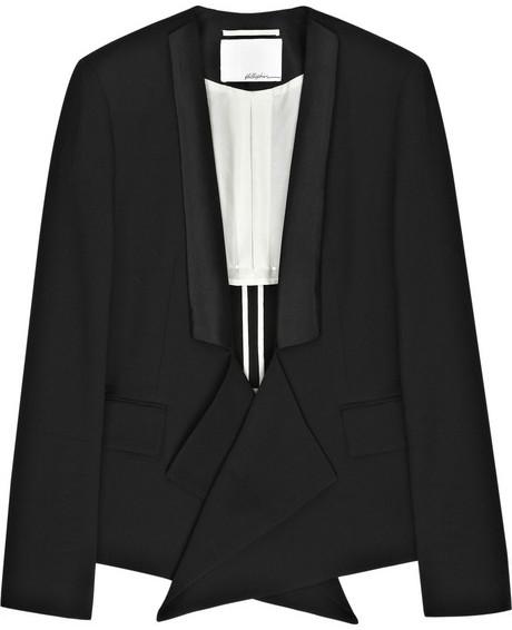 3.1 Phillip Lim Draped tuxedo jacket
