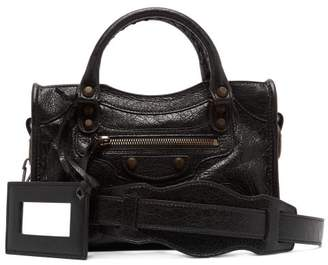 Balenciaga Classic City Mini Bag - Womens - Black