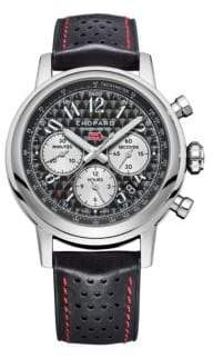 Chopard Mille Miglia Chronograph Leather Strap Watch