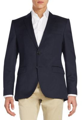 Hugo Boss Regular-Fit The James Virgin Wool Sportcoat