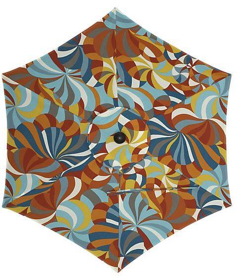 6' Round Marimekko Spinning Umbrella Cover