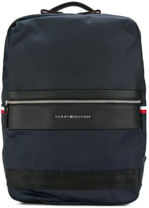 Tommy Hilfiger structured panelled backpack