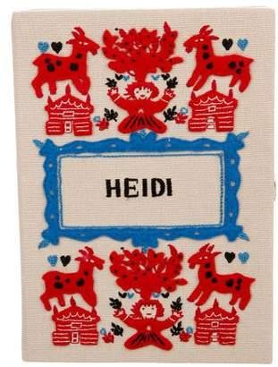 Olympia Le-Tan Heidi Book Clutch