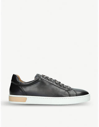 Magnanni Tennis leather trainers