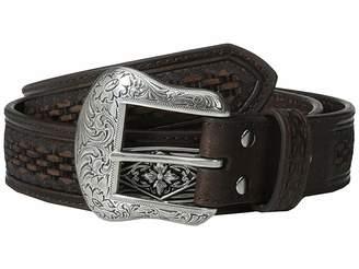 M&F Western Embossed Diamond Concho Belt