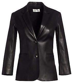The Row Women's Essentials Nolbon Leather Jacket