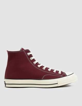 e3faecb03f8 Converse Chuck Taylor  70 Hi Sneaker in Dark Burgundy