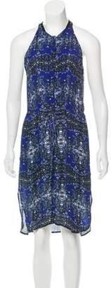A.L.C. Sleeveless Silk Midi Dress