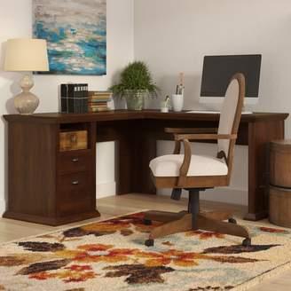 Three Posts Ferrell L-Shape Corner Desk