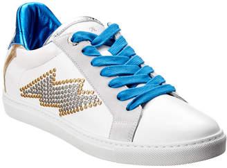 Zadig & Voltaire Zv1747 Flash Studs Leather Sneaker