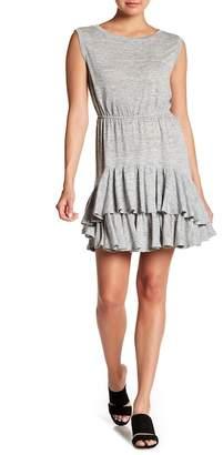 Rebecca Taylor Linen Ruffled Dress