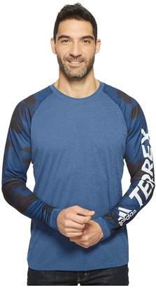 adidas Outdoor Trailcross Long Sleeve Shirt Men's Long Sleeve Pullover