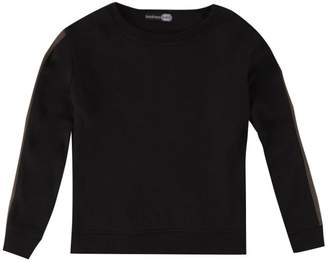 boohoo Boys Sleeve Stripe Crew Neck Sweat