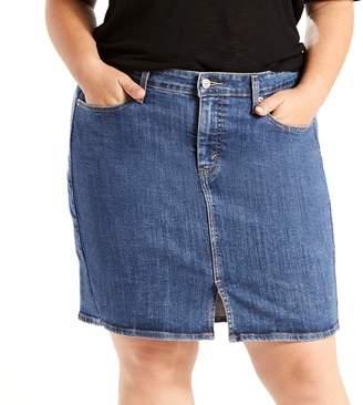 Levi's Levis Plus Size Icon Jean Skirt