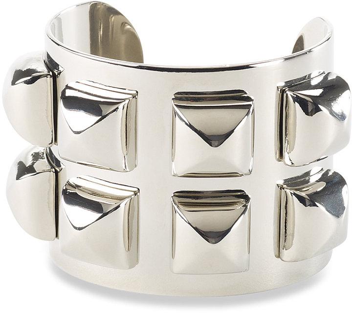 Oversize Stud Cuff Silver