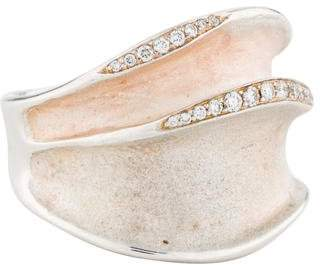 Ippolita Diamond Wave Ring