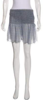 Ulla Johnson Silk Mini Skirt