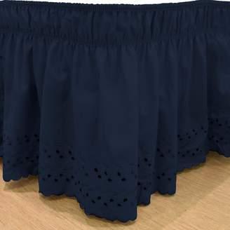 Kohl's EasyFit Wrap Around Eyelet Ruffled Bed Skirt