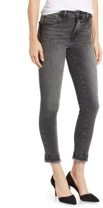 Mavi Jeans Tess Embroidered Cuff Ankle Jeans