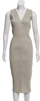 Rick Owens Sleeveless Zip-Accented Dress