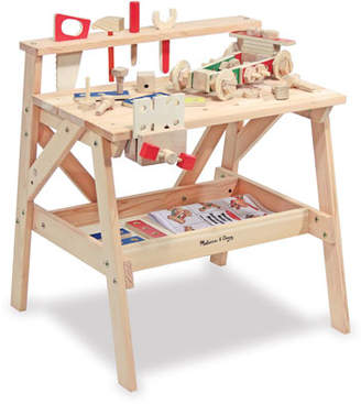 Melissa & Doug Kids' Play Wooden Project Workbench