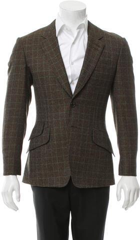 Paul SmithPaul Smith Glen Plaid Wool Blazer