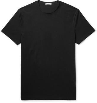 Acne Studios Edvin Stretch-Cotton T-Shirt $90 thestylecure.com