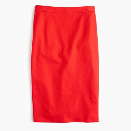 J.CrewTall pencil skirt in bi-stretch cotton