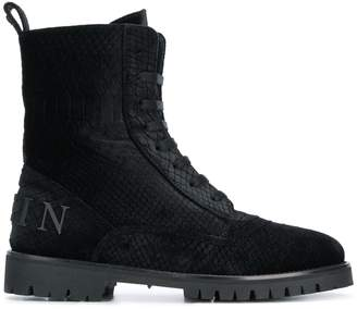 Philipp Plein lace-up ankle boots