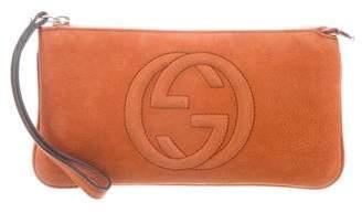 Gucci Suede Soho Wristlet