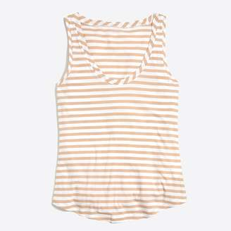 J.Crew Factory J.Crew Mercantile striped tissue tank top