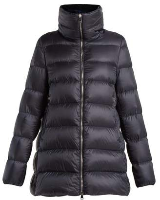 Moncler - Torcol Hip Length Down Jacket - Womens - Navy