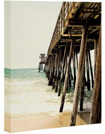 Bree Madden Down By The Pier Art Canvas